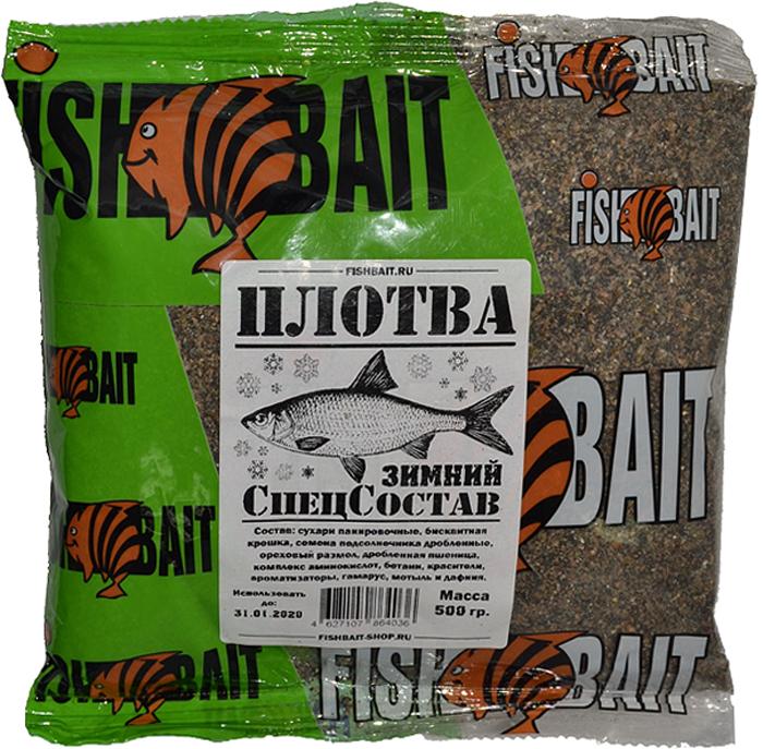 Прикормка для рыб FishBait СпецСостав. Плотва, зимняя, 0,5 кг