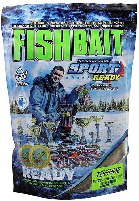 Прикормка для холодной воды FishBait Ready Sport. Течение, зимняя, 0,75 кг