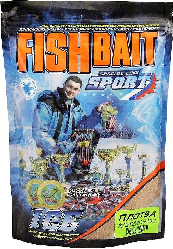 Прикормка для холодной воды FishBait Ice-Sport. Плотва, зимняя, 0,75 кг