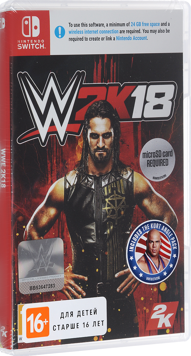 WWE 2K18 (Nintendo Switch) wwe 2k18 [xbox one]
