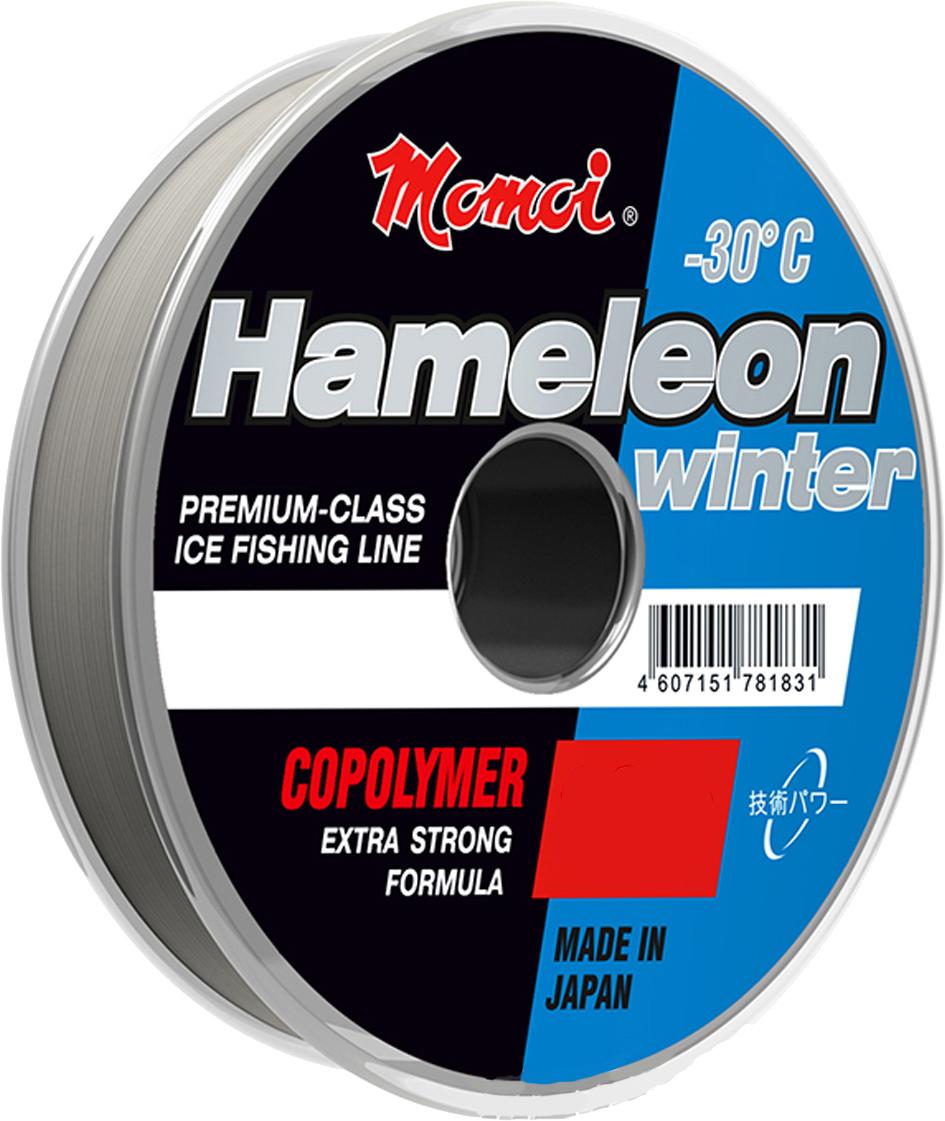Леска зимняя Momoi Fishing Hameleon Winter, 30 м, 0,11 мм, 1,4 кг