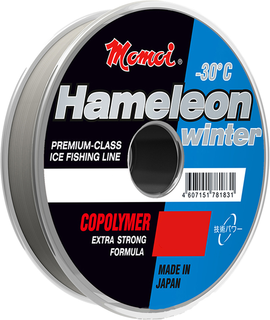 Леска зимняя Momoi Fishing Hameleon Winter, 30 м, 0,23 мм, 6 кг