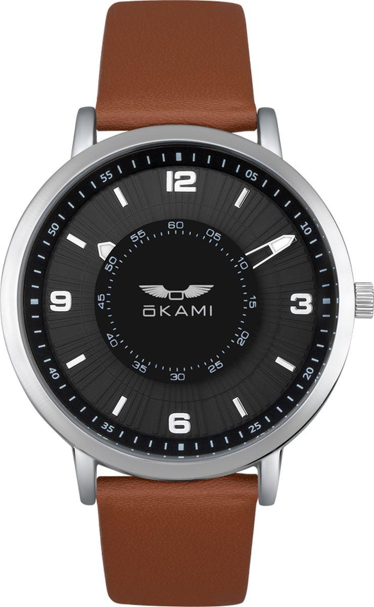 Часы наручные женские Okami, цвет: коричневый. K393ASB-01LC