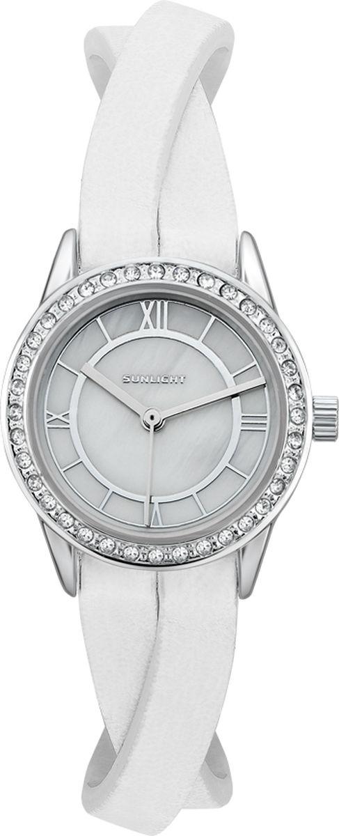 Часы наручные женские Sunlight, цвет: белый. S230ASZ-01LW