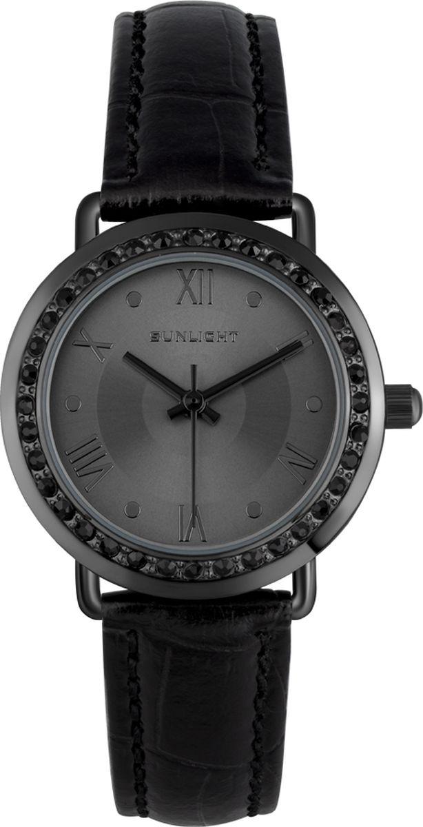 Часы наручные женские Sunlight, цвет: черный. S301ABB-01LB