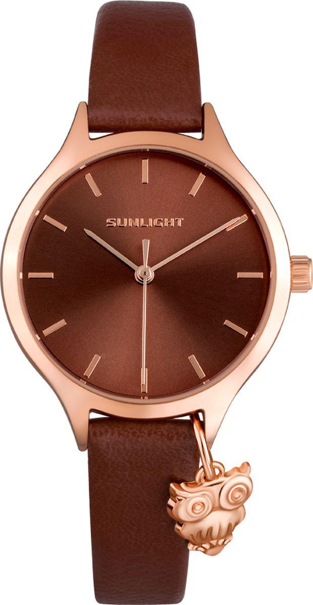 Часы наручные женские Sunlight, цвет: коричневый. S307ARC-01LC цена