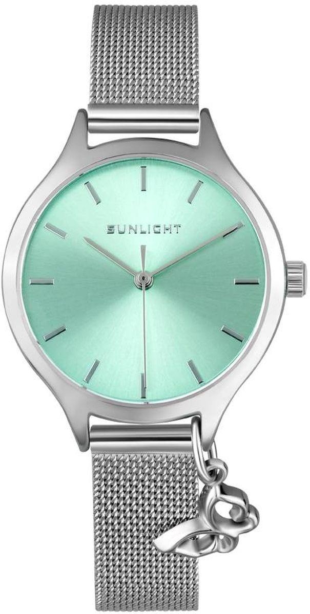 Часы наручные женские Sunlight, цвет: серебристый. S307AST-01BM