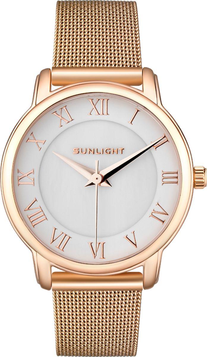 Часы наручные женские Sunlight, цвет: золотой. S342ARZ-01BM