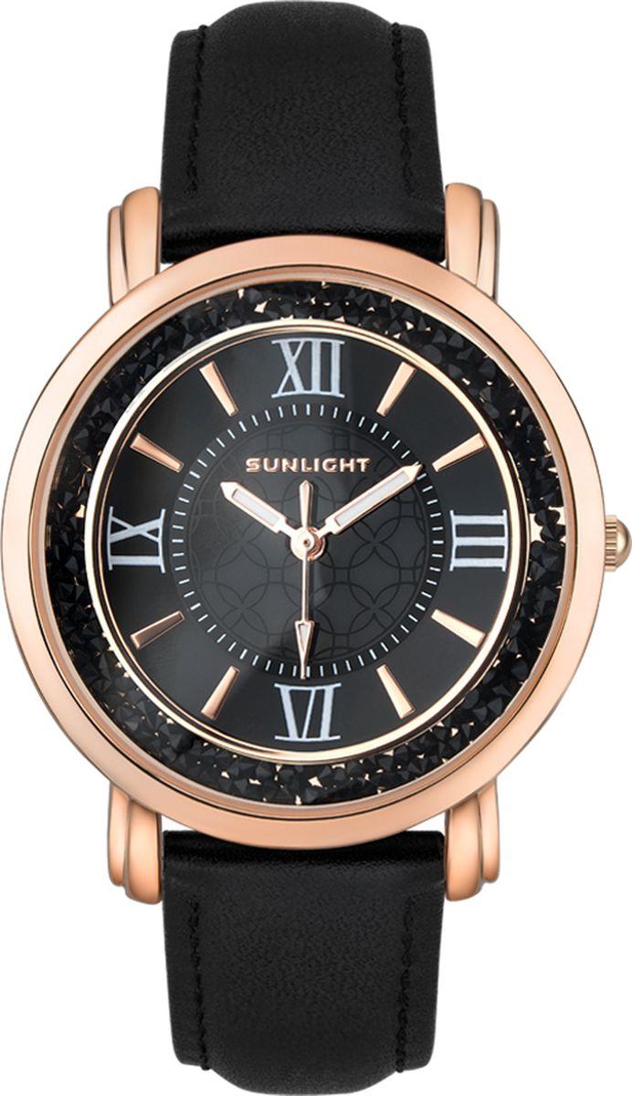 Часы наручные женские Sunlight, цвет: черный. S384ARB-01LB
