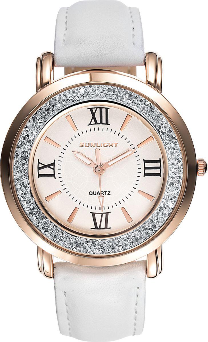 Часы наручные женские Sunlight, цвет: белый. S384ARW-01LW