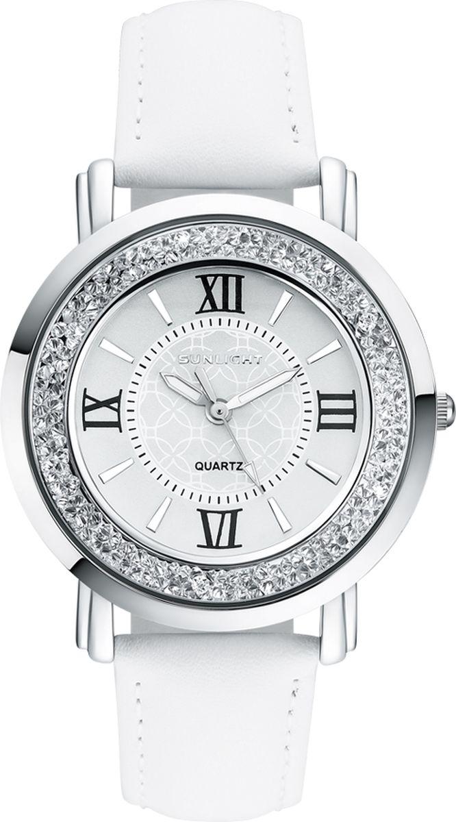 Часы наручные женские Sunlight, цвет: белый. S384ASW-01LW