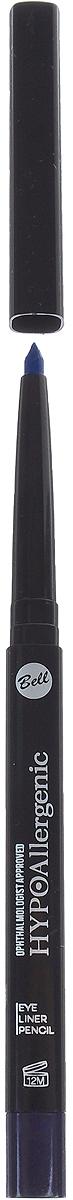 Bell Hypoallergenic Подводка для глаз, гипоаллергенная, в стике Eye Liner Pencil, Тон №50, 4 мл bell hypoallergenic корректор маскирующий гипоаллергенный в стике skin stick concealer тон 02 4мл