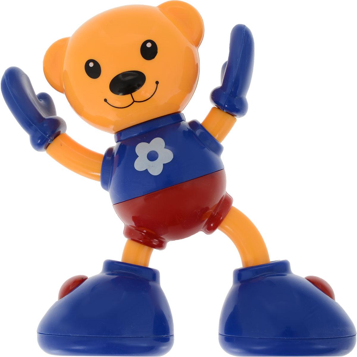 Ути-Пути Развивающая игрушка Медвежонок цвет оранжевый цена и фото