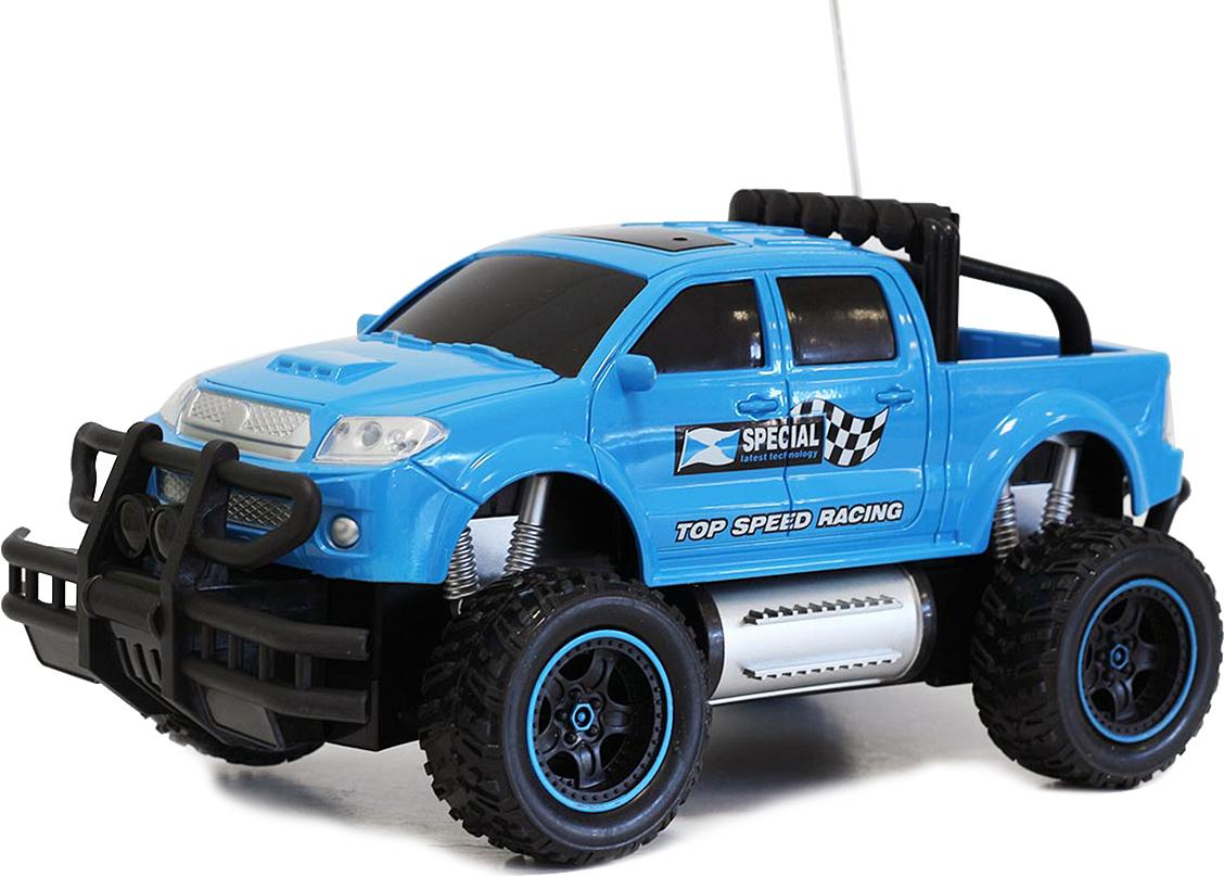 Taiko Джип внедорожник на радиоуправлении цвет синий 0402 машинка на радиоуправлении taiko special джип малый