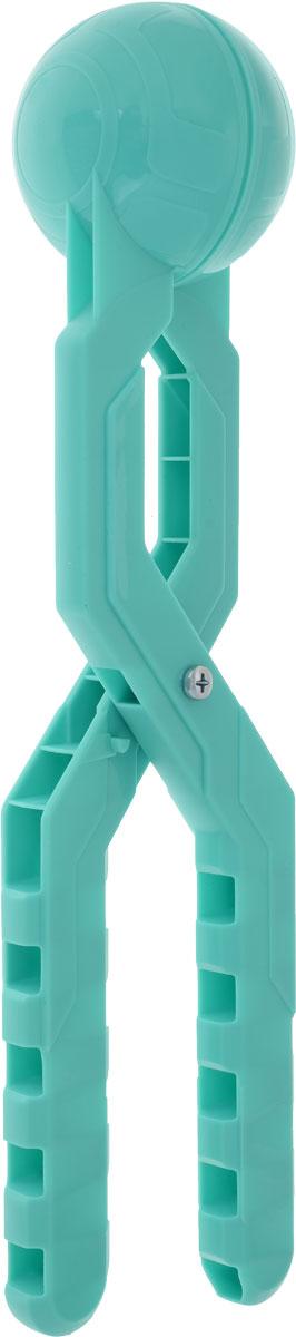 Снежкодел Снежколеп Турбо цвет бирюзовый 36 см игрушка для лепки снежков staleks crystal синяя снежколеп снежкодел
