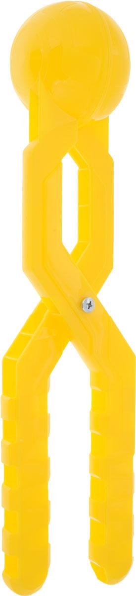 Снежкодел Снежколеп Турбо цвет желтый 36 см игрушка для лепки снежков staleks crystal синяя снежколеп снежкодел
