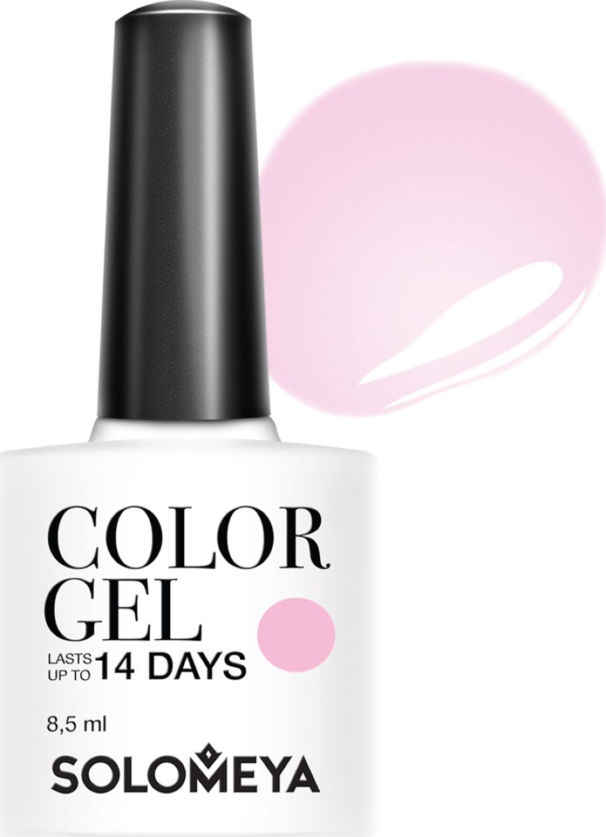 Solomeya Гель-лак Color Gel, тон Charlene SCGK032 (Шарлин), 8,5 мл solomeya гель лак color gel тон marishka scg144 маришка 8 5 мл