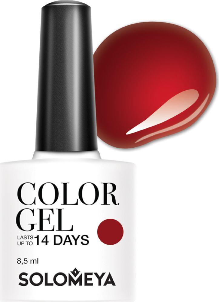 Solomeya Гель-лак Color Gel, тон Martinа SCGK093 (Мартина), 8,5 мл гель лак для ногтей solomeya martinа мартина 8 5 мл