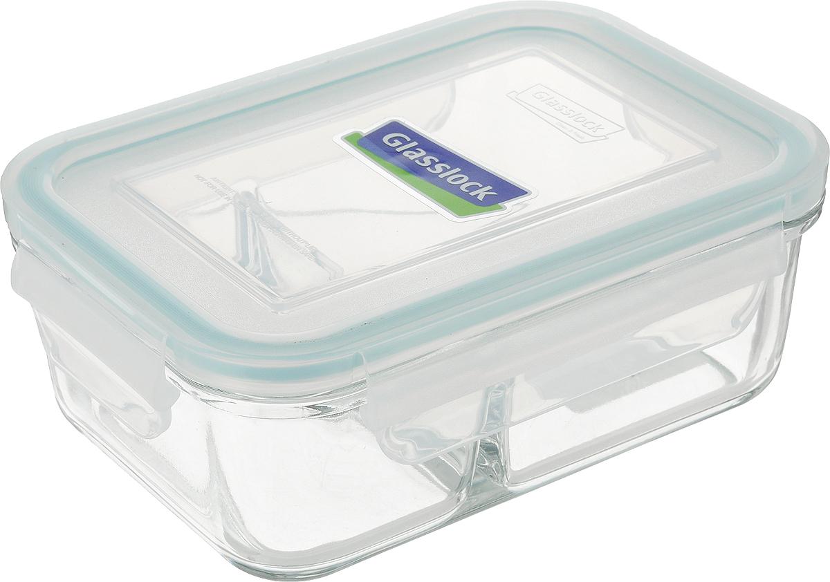 Контейнер Glasslock, прямоугольный, цвет: прозрачный, 670 млMCRK-067Контейнер для хранения Glasslock изготовлен из высококачественного закаленного ударопрочного стекла. Герметичная крышка, выполненная из пластика и снабженная уплотнительной резинкой, надежно закрывается с помощью четырех защелок. Подходит для мытья в посудомоечной машине, хранения в холодильных и морозильных камерах, использования в микроволновых печах. Стеклянная посуда нового поколения от Glasslock экологична, не содержит токсичных и ядовитых материалов; превосходная герметичность позволяет сохранять свежесть продуктов; покрытие не впитывает запах продуктов; имеет утонченный европейский дизайн - прекрасное украшение стола. Размер контейнера (по верхнему краю): 16 х 11 см. Высота контейнера (с учетом крышки): 6,5 см.