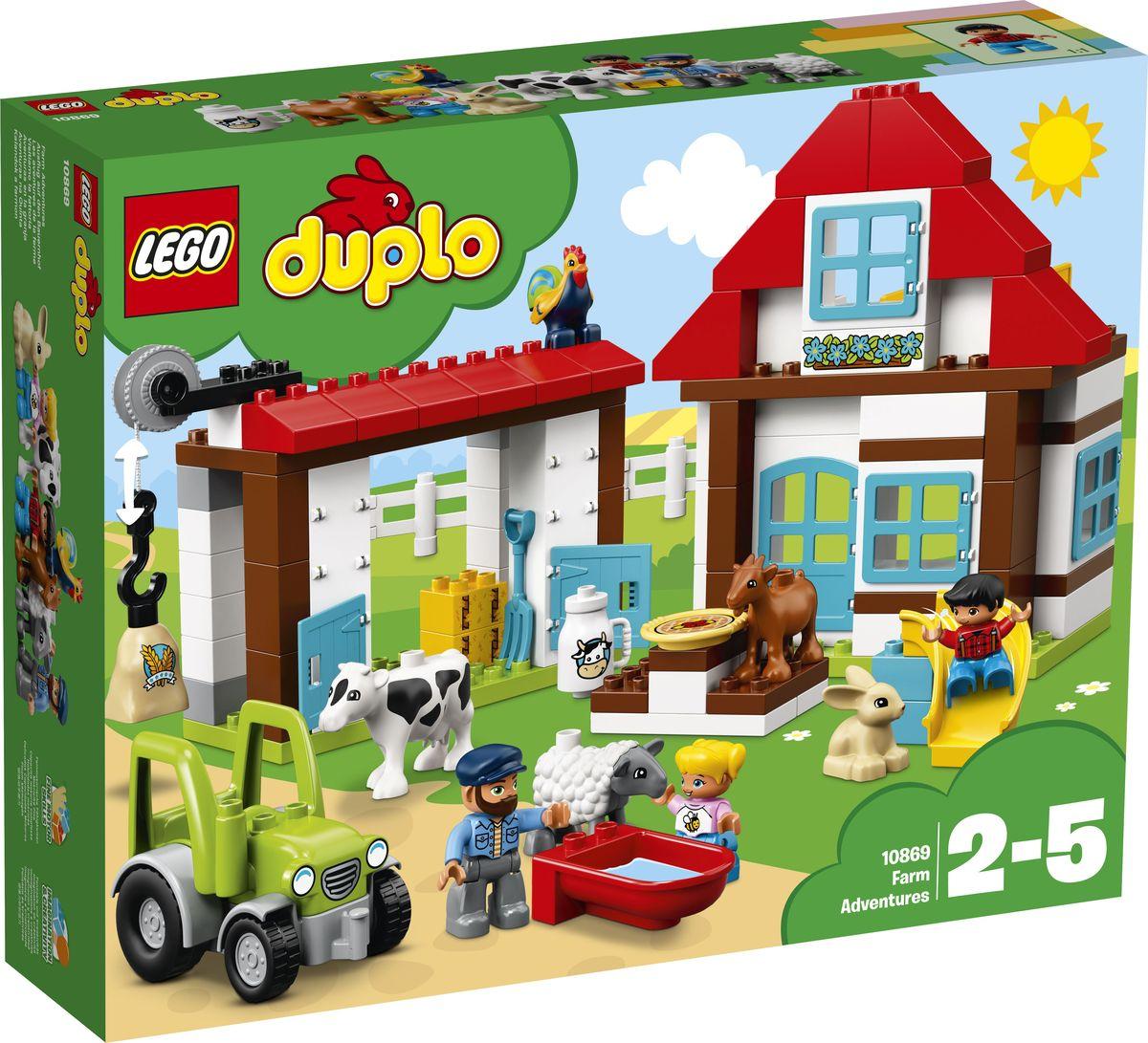 LEGO DUPLO Town 10869 День на ферме Конструктор