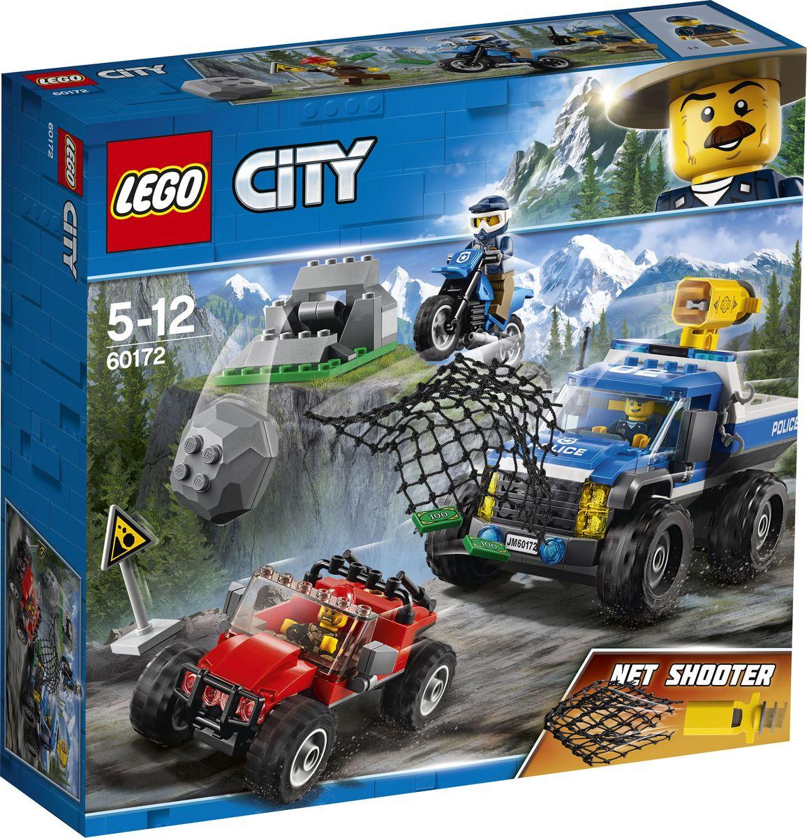 LEGO City Police 60172 Погоня по грунтовой дороге Конструктор конструктор lego 60172 погоня по грунтовой дороге 297 элементов