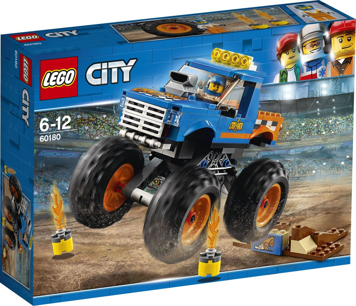LEGO City Great Vehicles 60180 Монстр-трак Конструктор