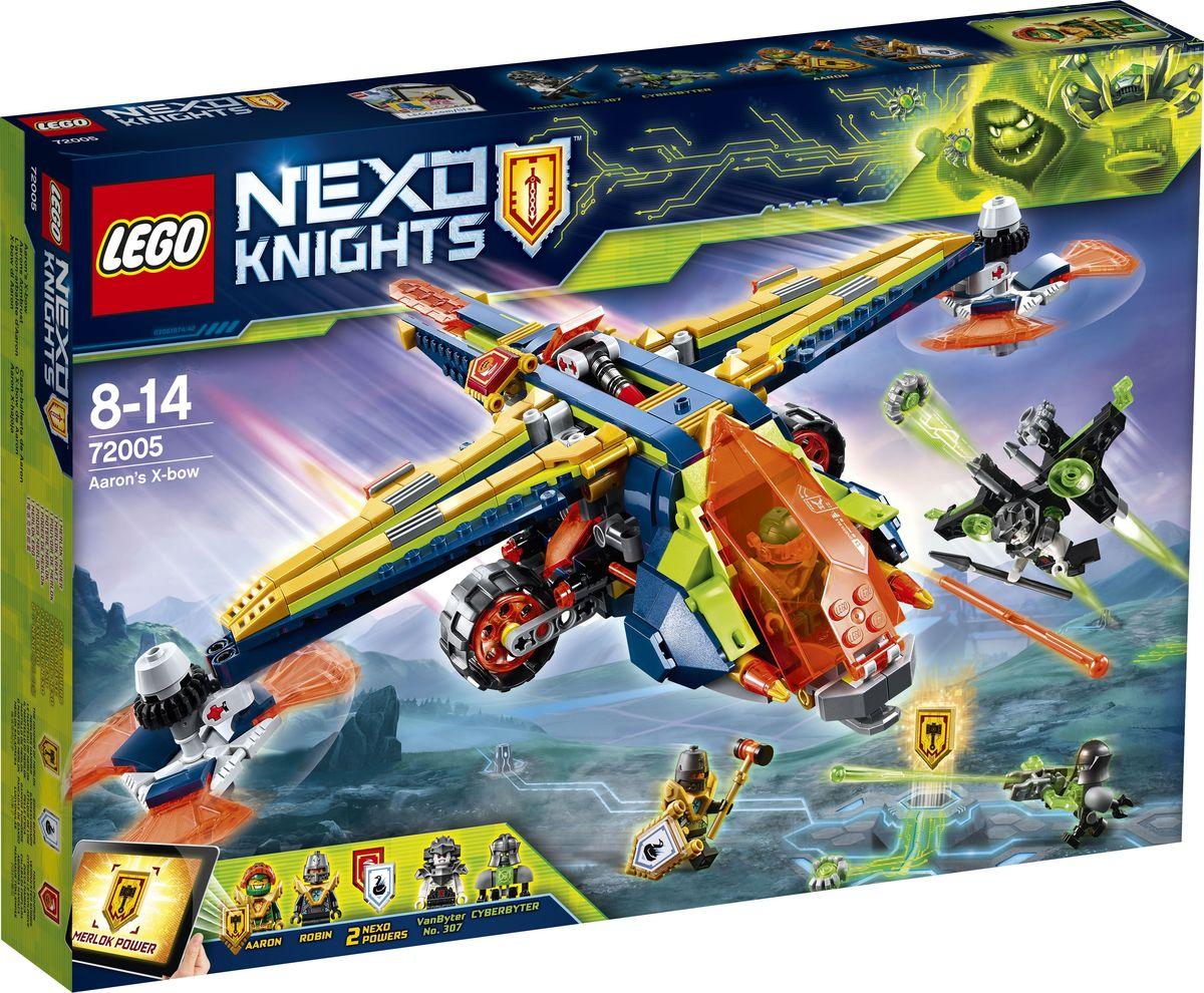 LEGO NEXO KNIGHTS 72005 Аэро-арбалет Аарона Конструктор стоимость