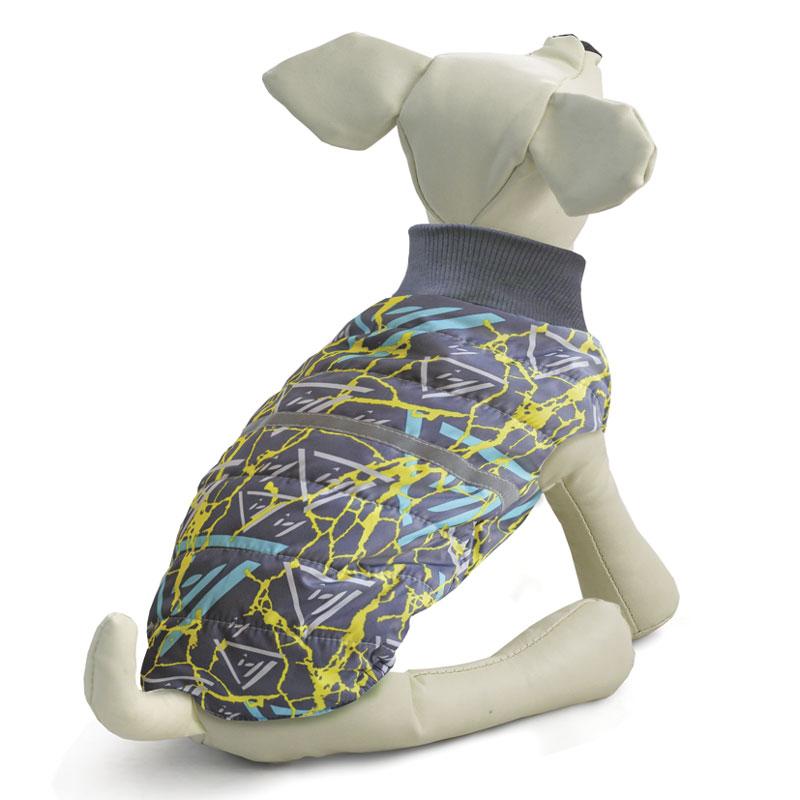 """Жилет для собак """"Gamma"""", двухсторонний, унисекс, цвет: серый. Размер XS"""