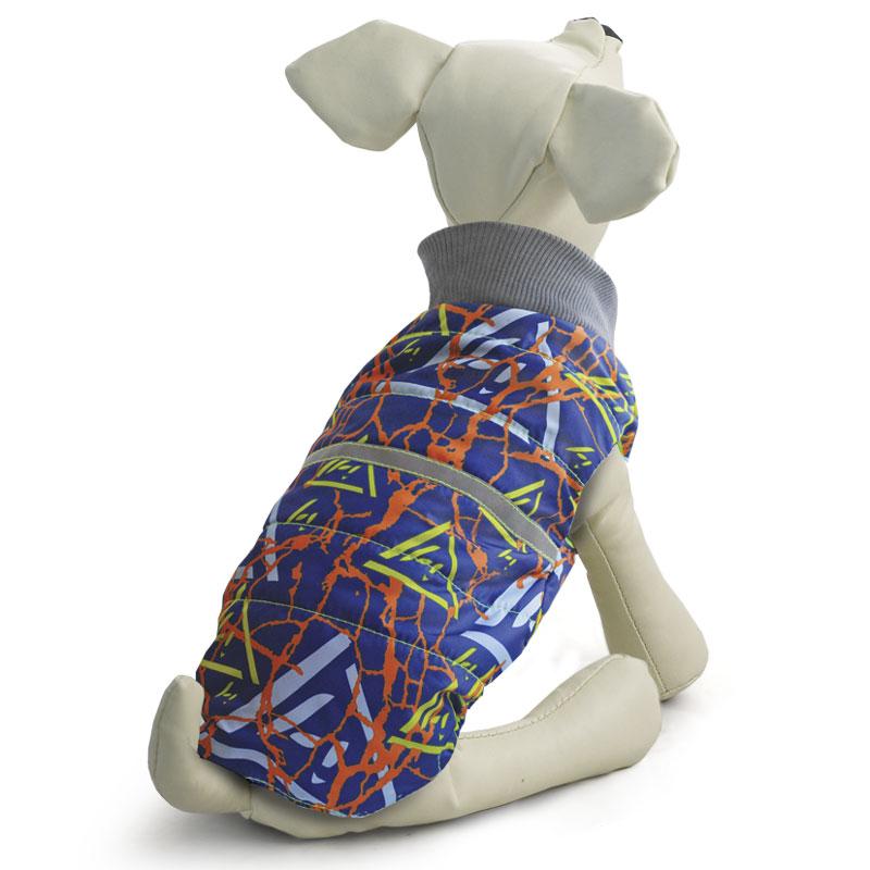 "Жилет для собак ""Gamma"", двухсторонний, унисекс, цвет: синий. Размер M"