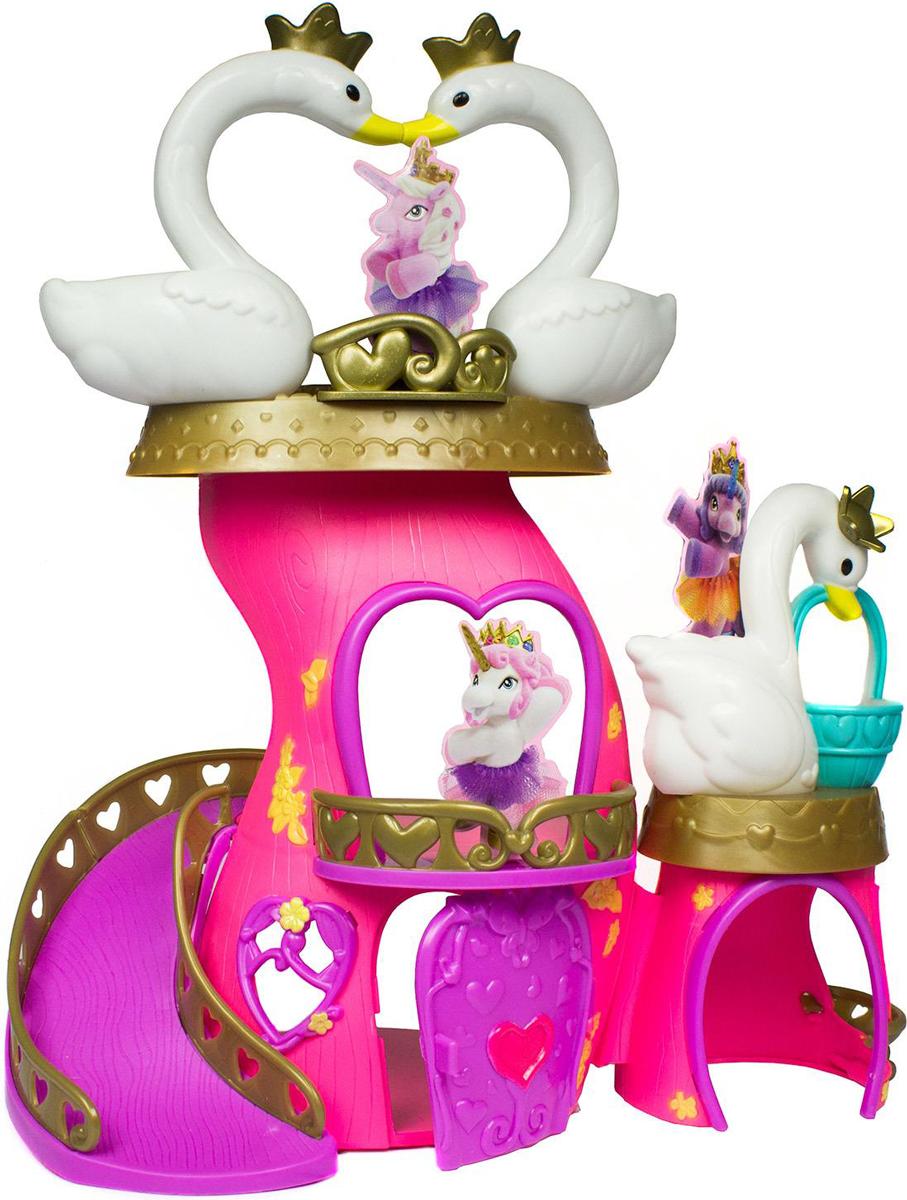 Dracco Игровой набор Filly Ballerina Лебединый замок цена 2017