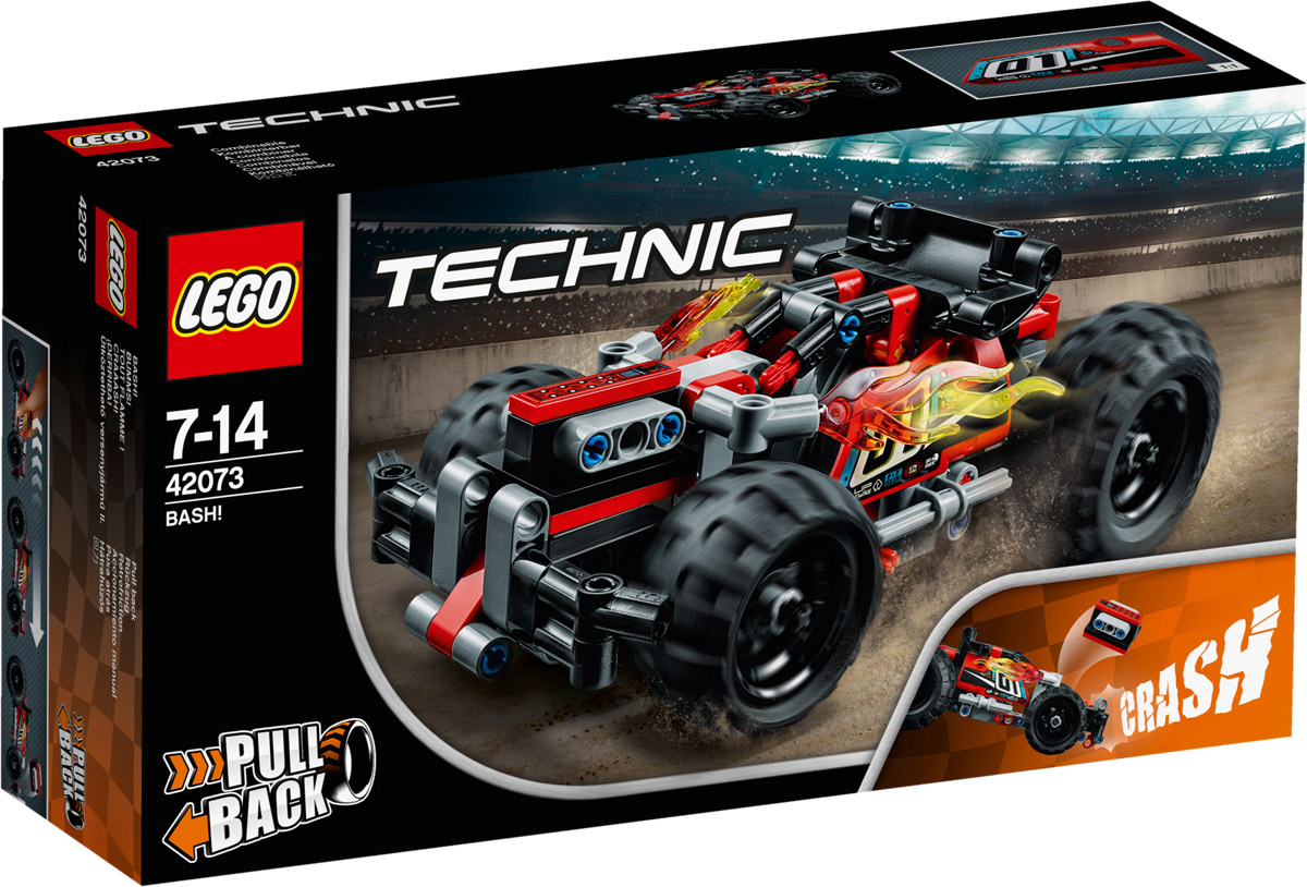 LEGO Technic 42073 Гоночный автомобиль цвет красный Конструктор конструктор lego technic гоночный автомобиль 42077
