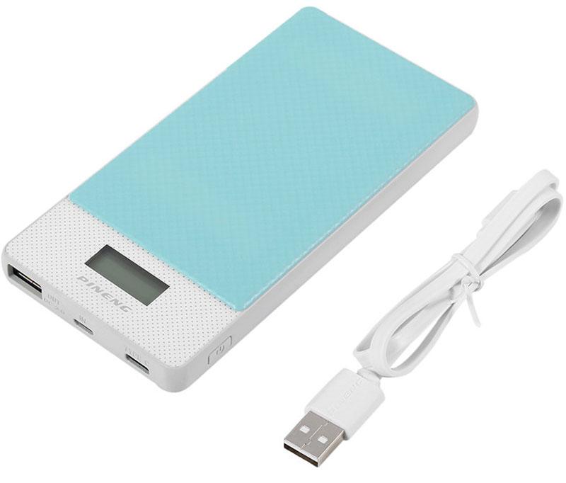 Фото - Pineng PN-993, Blue внешний аккумулятор c Type-C (10000 мАч) внешний аккумулятор power bank 10000 мач pineng pn 993pk розовый qc 3 0 type c