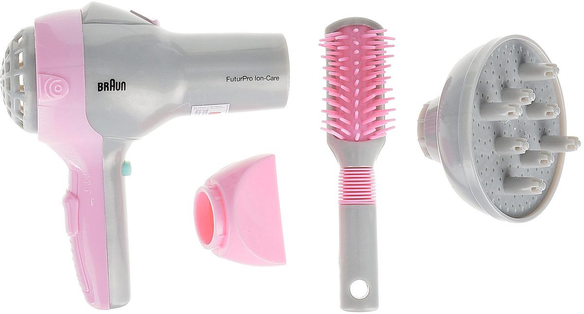 Игровой набор Klein Braun. Набор парикмахера, 4 предмета klein игровой набор braun satin hair 7 10 предметов