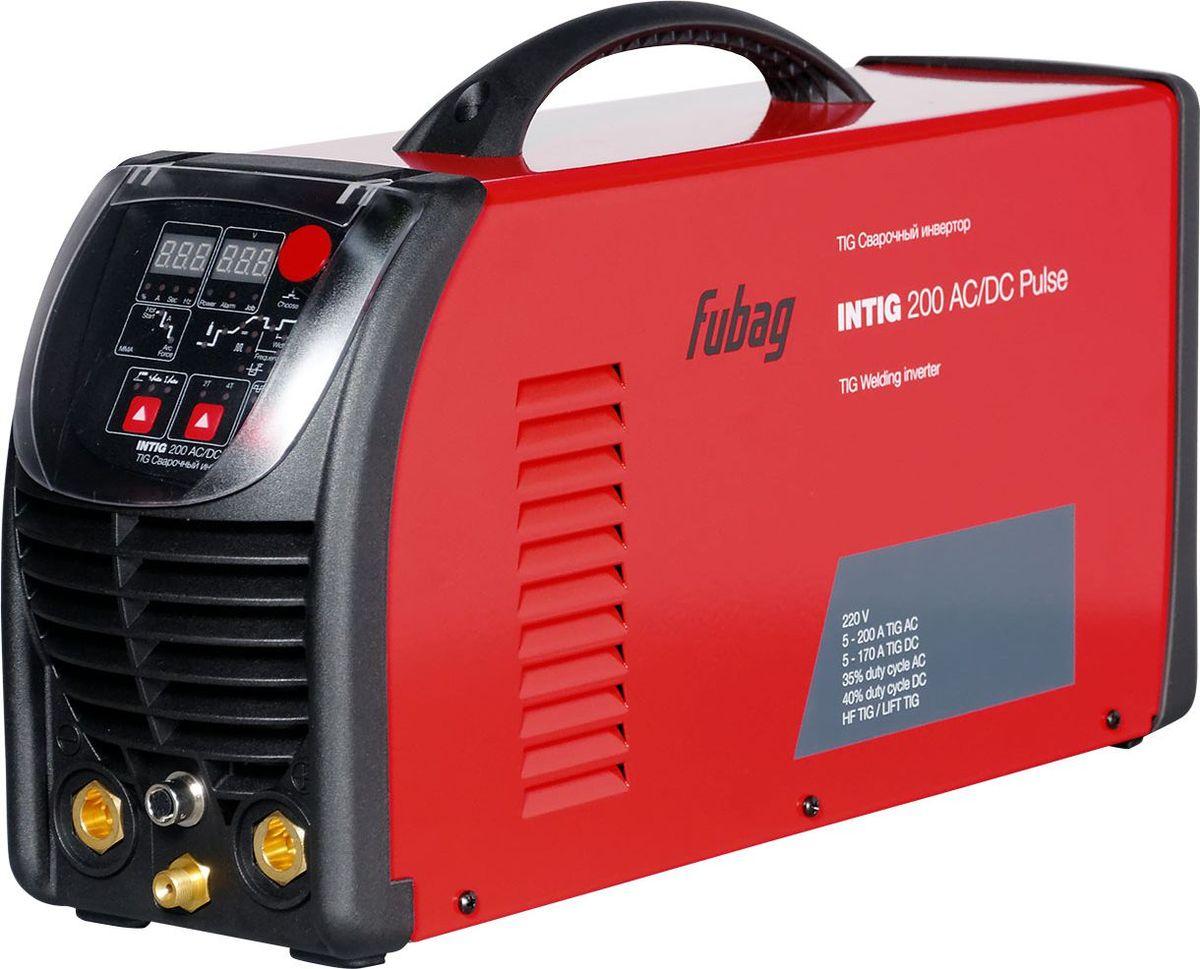 Инвертор сварочный Fubag Intig 200 AC/DC Pulse, с горелкой