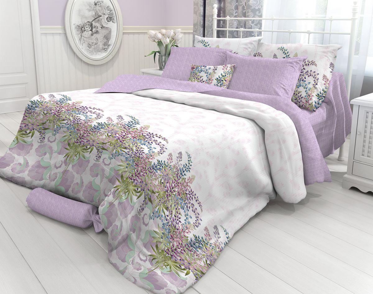 Комплект белья Verossa Lupin, 2-спальный, наволочки 50х70. 717570717570Комплект постельного белья Verossa включает в себя четыре предмета: простыню, пододеяльник и две наволочки, выполненные из перкаля. Перкаль - это тонкая, повышенной плотности в основном белая хлопчатобумажная ткань полотняного переплетения. Постельное белье Verossa предназначено для людей ценящих комфорт, стиль и высокое качество. Советы по выбору постельного белья от блогера Ирины Соковых. Статья OZON Гид
