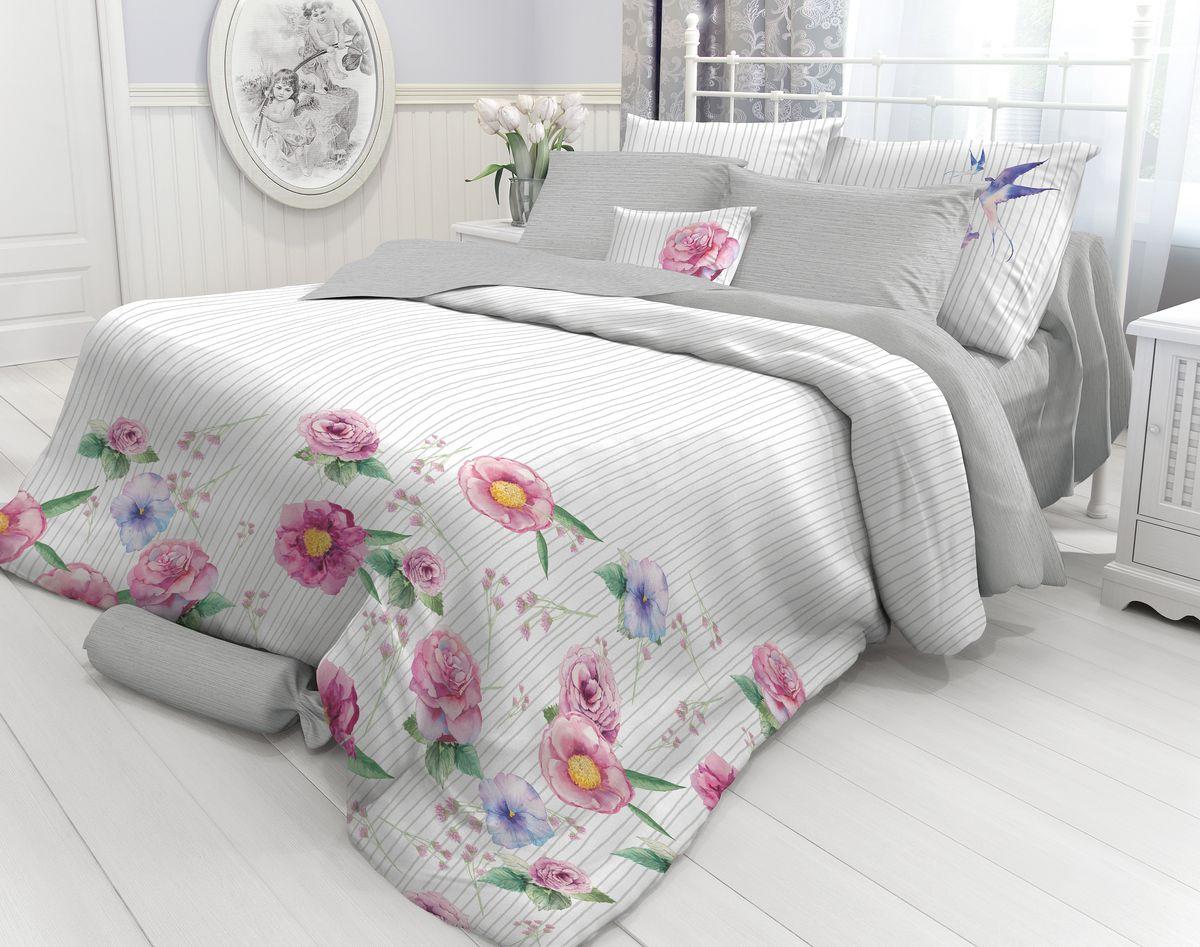 Комплект белья Verossa Martlet, 1,5-спальный, наволочки 70х70. 718721 бачок для унитаза simas lante la28b
