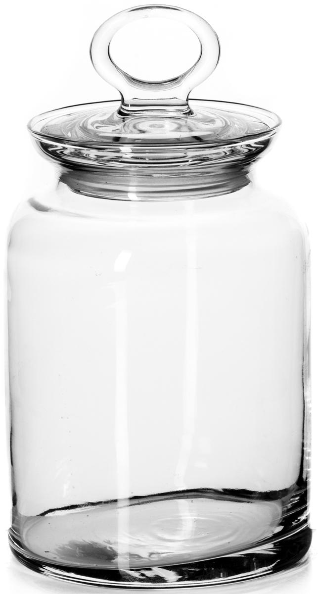Банка для сыпучих продуктов Pasabahce Kitchen, с крышкой, 1515 мл98673SLBБанка Pasabahce выполнена из прочного натрий-кальций-силикатного стекла. Банка оснащена пластиковой плотно прилегающей крышкой. В такой банке удобно хранить крупы, специи, орехи и многое другое. Функциональная и практичная, такая банка станет незаменимым аксессуаром на вашей кухне. Рекомендуем!