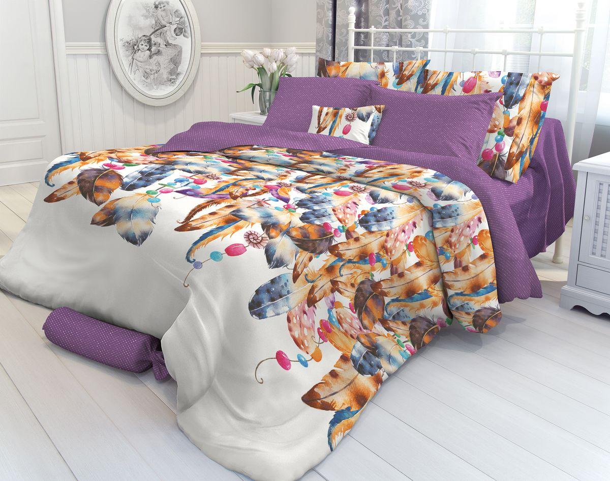 Комплект белья Verossa Indigo, 1,5-спальный, наволочки 70х70. 706984706984Комплект постельного белья Verossa включает в себя четыре предмета: простыню, пододеяльник и две наволочки, выполненные из перкаля. Перкаль - это тонкая, повышенной плотности в основном белая хлопчатобумажная ткань полотняного переплетения. Постельное белье Verossa предназначено для людей ценящих комфорт, стиль и высокое качество. Советы по выбору постельного белья от блогера Ирины Соковых. Статья OZON Гид