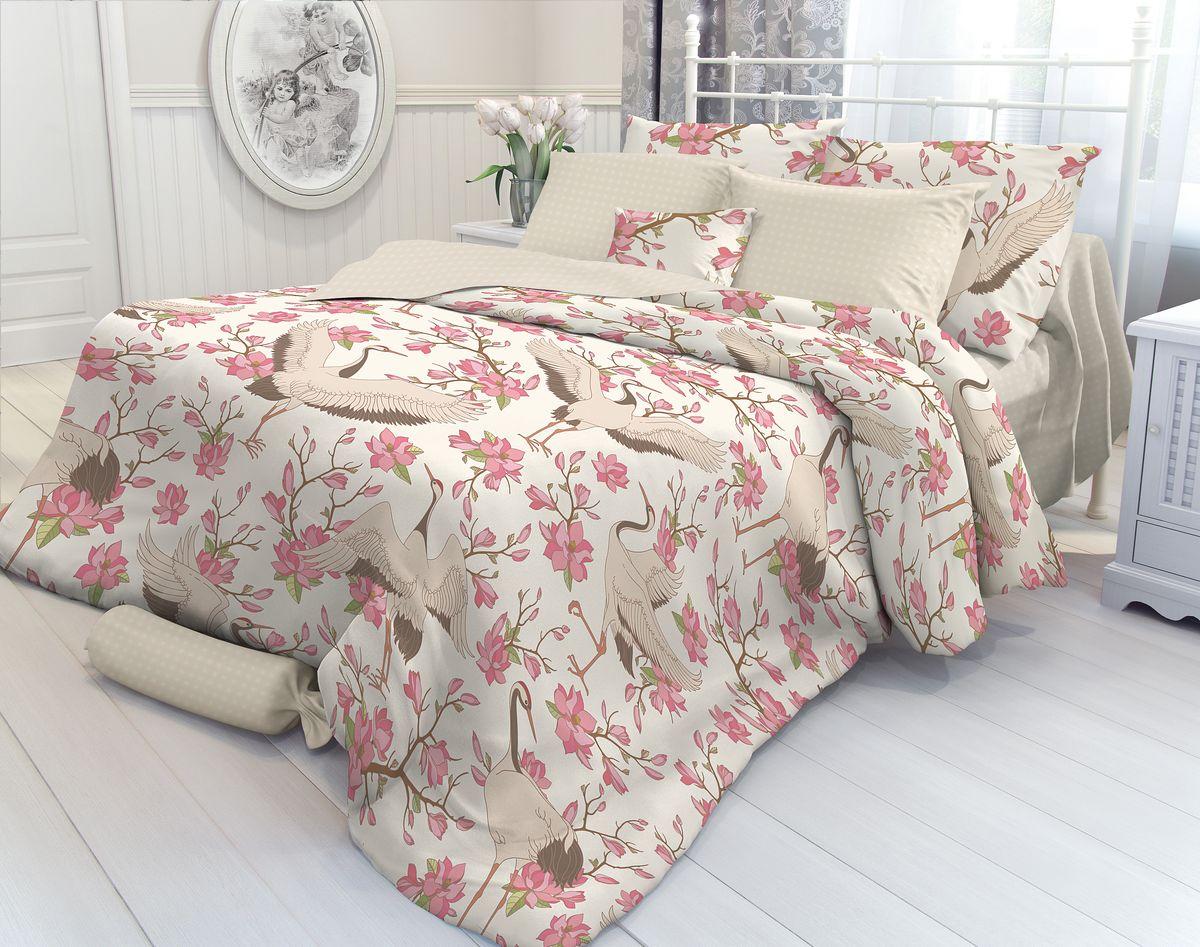 Комплект белья Verossa Magnolia, 2-спальный, наволочки 50х70. 707017 комплект белья verossa 2 спальный наволочки 50х70 см цвет шоколадный