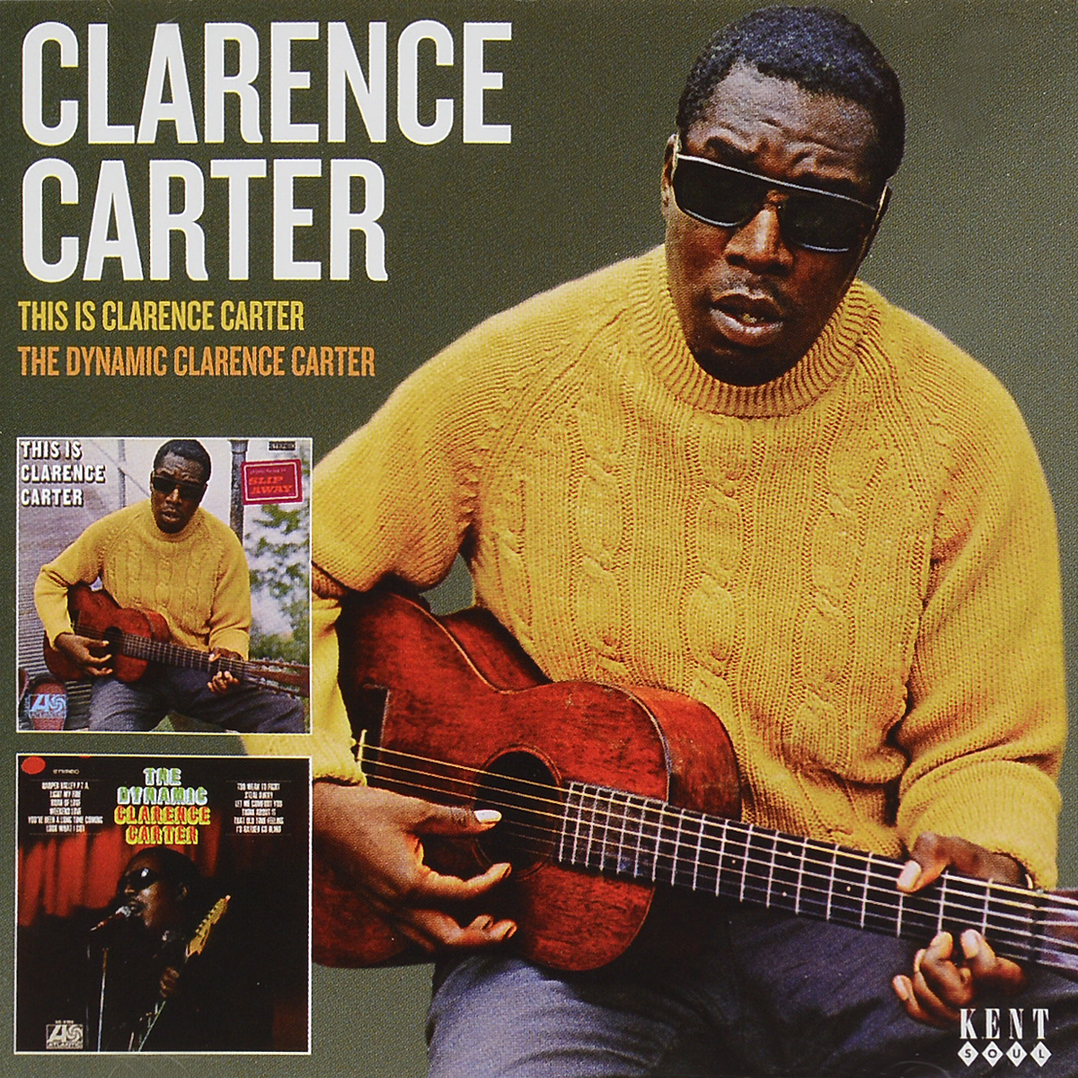 Кларенс Картер Clarence Carter. This Is Clarence Carter / The Dynamic Clarence Carter kellys carter 50 2016