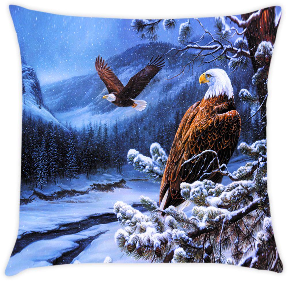 Наволочка декоративная Матренин Посад Гордый орел, 39 х 39 см матренин посад рисунок на шелке водопад