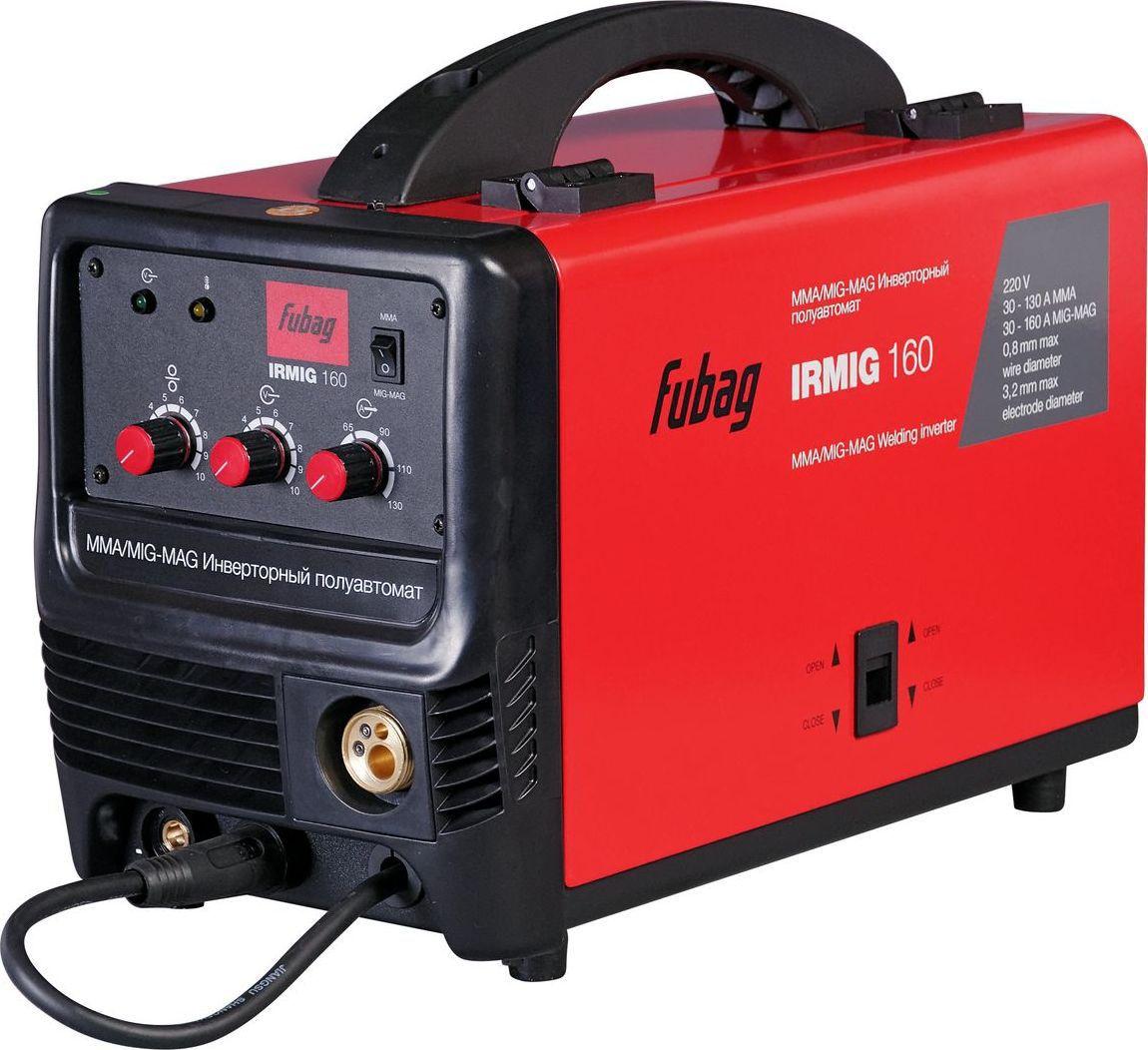Сварочный полуавтомат-инвертор Fubag Irmig 160 сварочный полуавтомат fubag irmig 160 38607 горелка fb 150 3 м инвертор