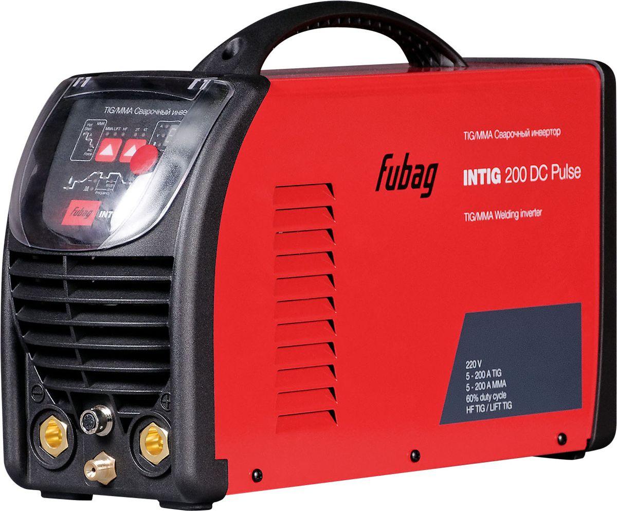Инвертор сварочный Fubag Intig 200 DC Pulse, с горелкой
