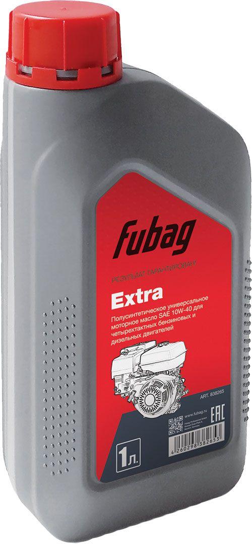 Масло моторное полусинтетическое Fubag, для четырехтактных двигателей Fubag Extra SAE 10W-40, 1 л автоматика fubag 210001