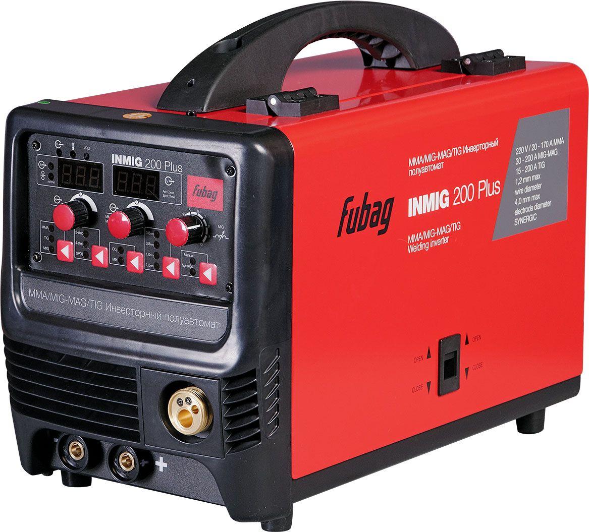 """Сварочный полуавтомат-инвертор Fubag """"Inmig 200 PLUS с горелкой FB 250_3 м"""""""