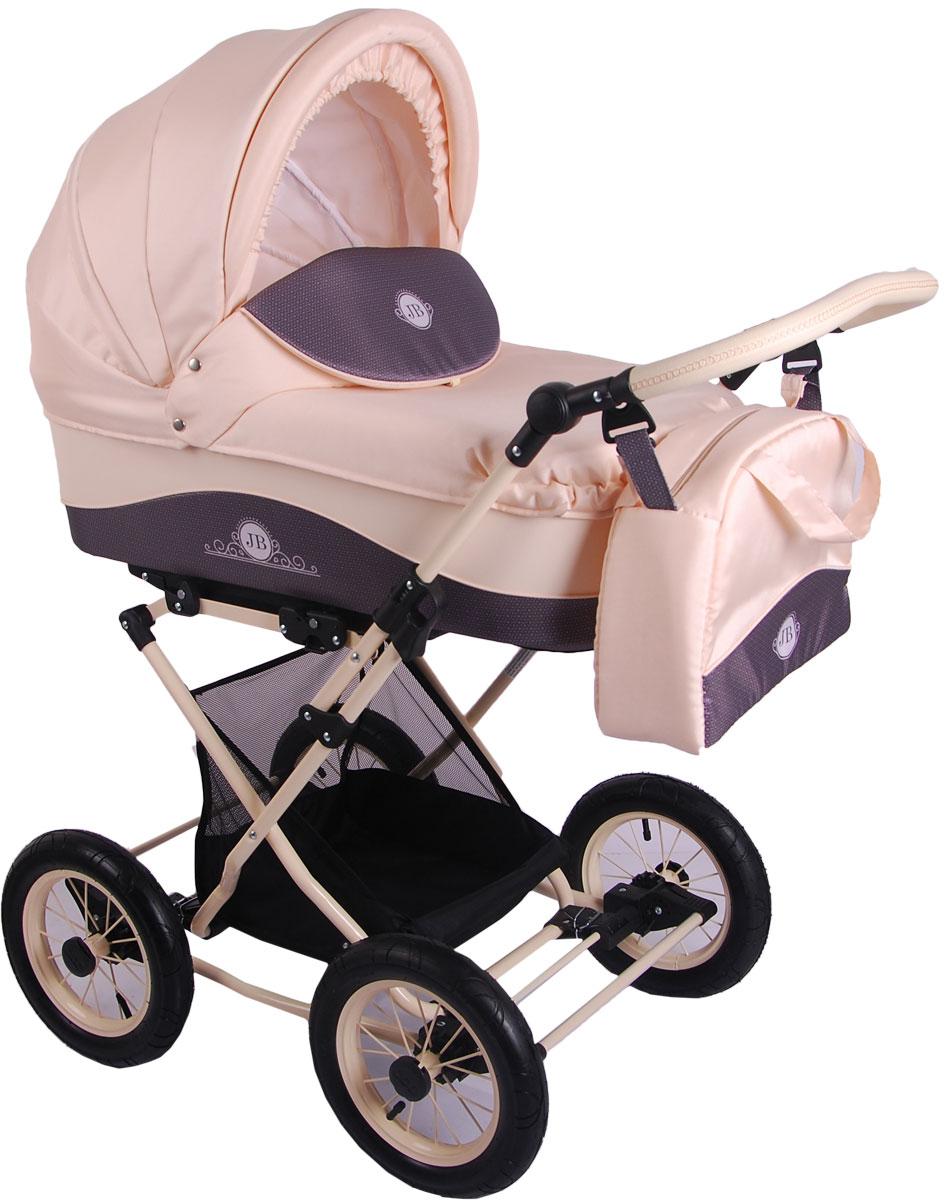 Универсальная коляска Lonex Julia Baronessa 2в1, LX-JBN-01, кремовый lonex lonex jb 09