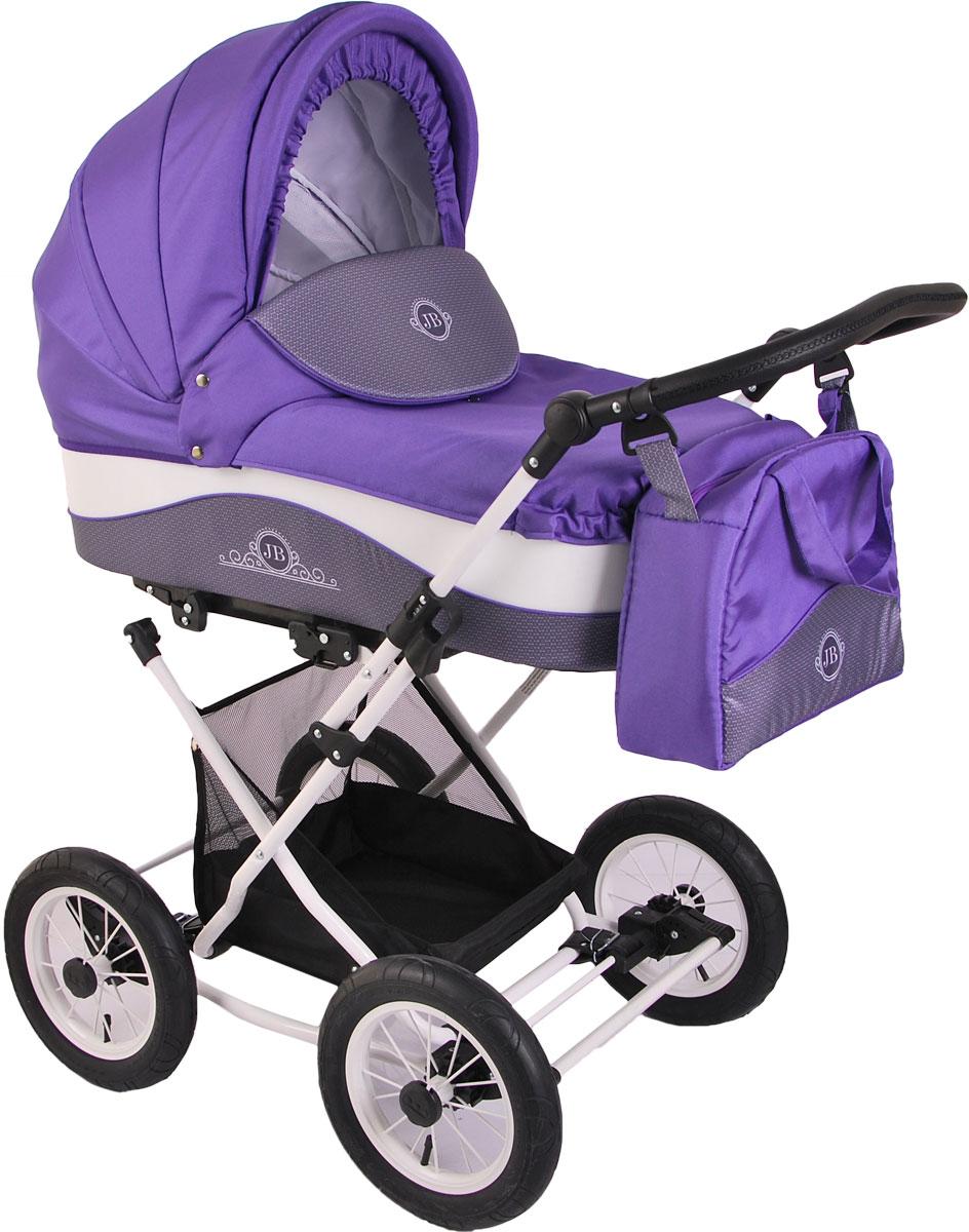 Универсальная коляска Lonex Julia Baronessa, LX-JBN-13, фиолетовый lonex lonex jb 09