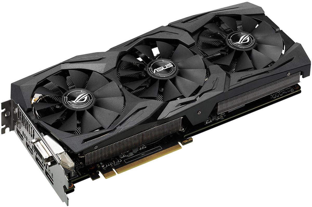 Видеокарта ASUS ROG Strix GeForce GTX 1080 Advanced 8GB, STRIX-GTX1080-A8G-GAMING
