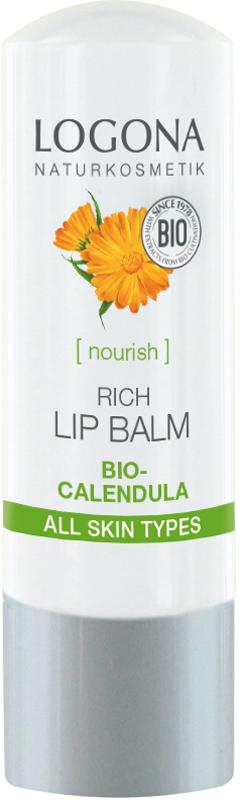 Фото - Logona Интенcивный бальзам для губ с календулой, 4,5 г спасательный круг бальзам для пяток с календулой пантенолом витамином а 50 г