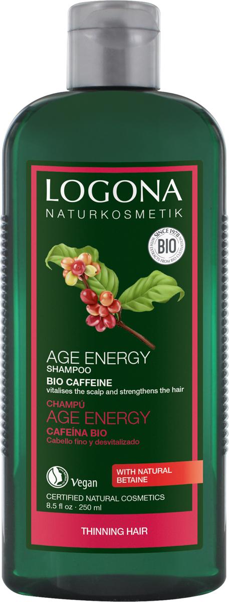 Logona Шампунь для укрепления волос с Био-Кофеином, 250 мл недорого